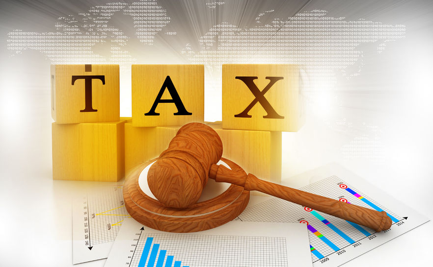 57482292 - tax with a gavel. tax court judgments